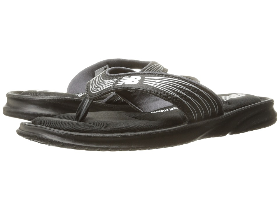 New Balance - Cruz III Thong (Black) Women's Sandals