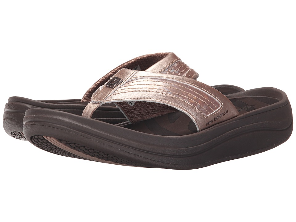 New Balance - Revive Thong (Rose Gold) Women's Sandals