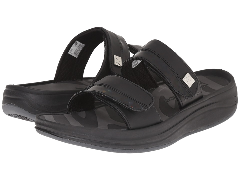 New Balance - Revive 2-Strap Sandal (Black) Women's Sandals