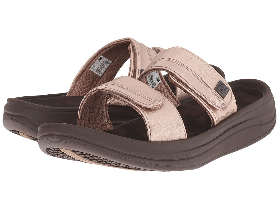 New Balance - Revive 2-Strap Sandal (Rose Gold) Women's Sandals