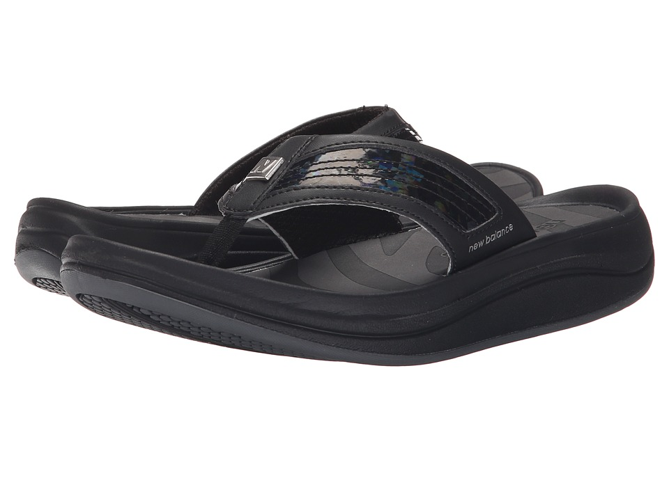 New Balance - Revive Thong (Black 2) Women's Sandals