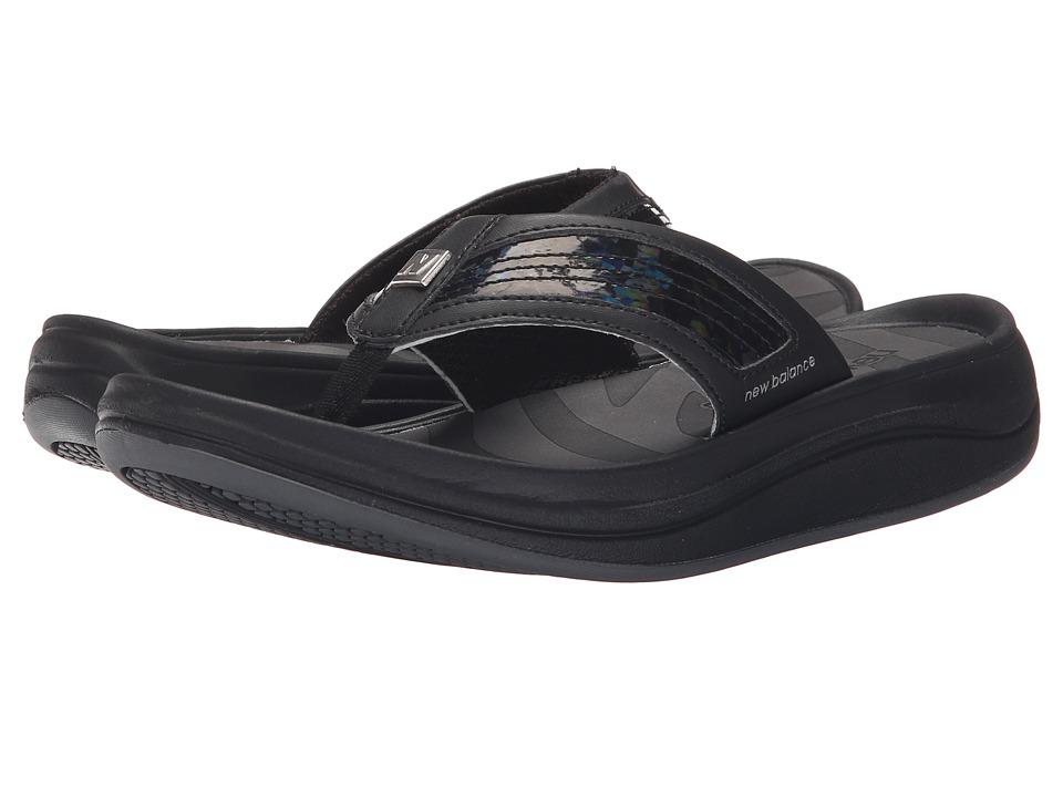 New Balance - Revive Thong (Black 2) Women's Sandals