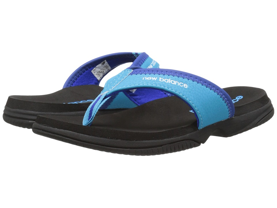 New Balance - JoJo Thong (True Black/Blue) Women's Sandals