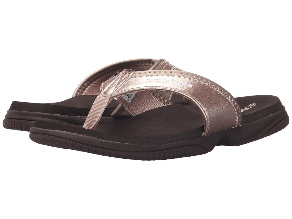 New Balance - JoJo Thong (Rose Gold) Women's Sandals