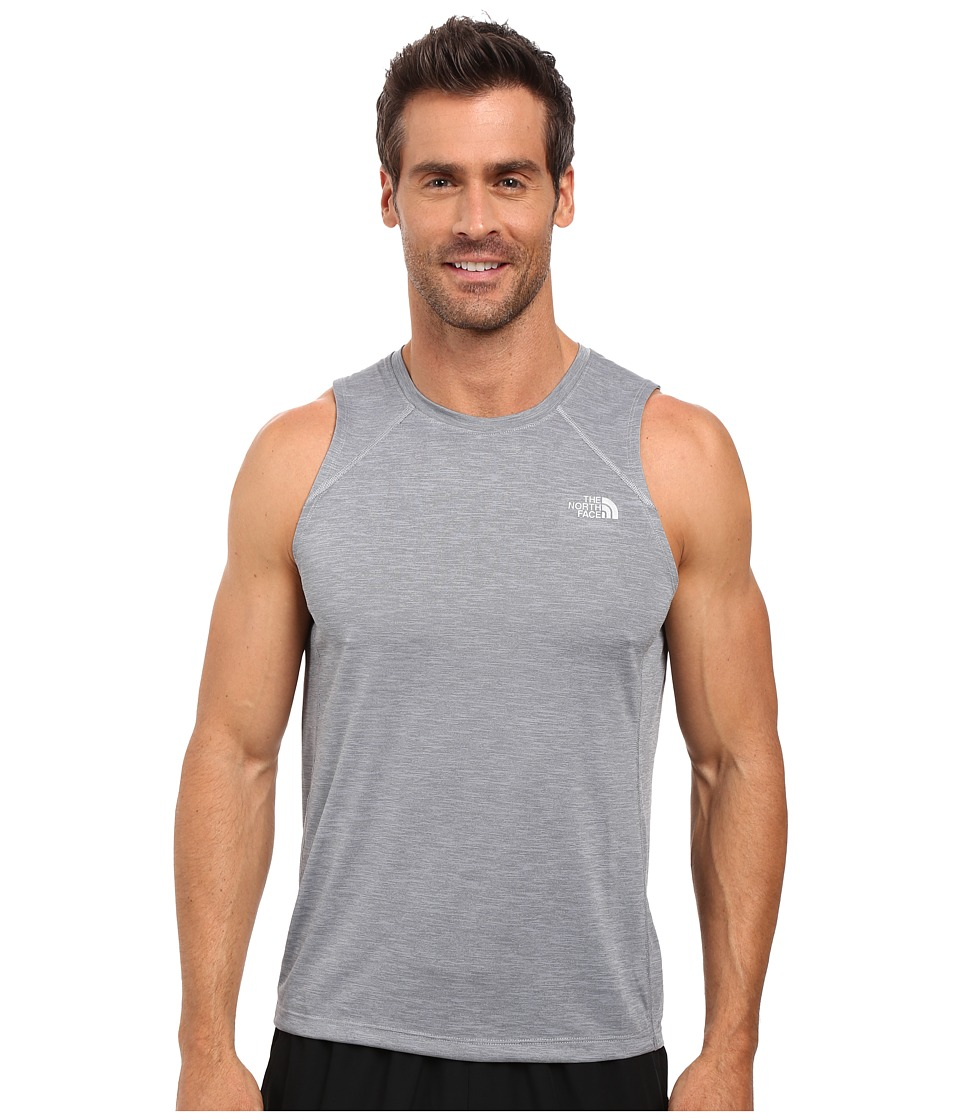 The North Face - Ambition Tank Top (TNF Medium Grey Heather) Men's Sleeveless