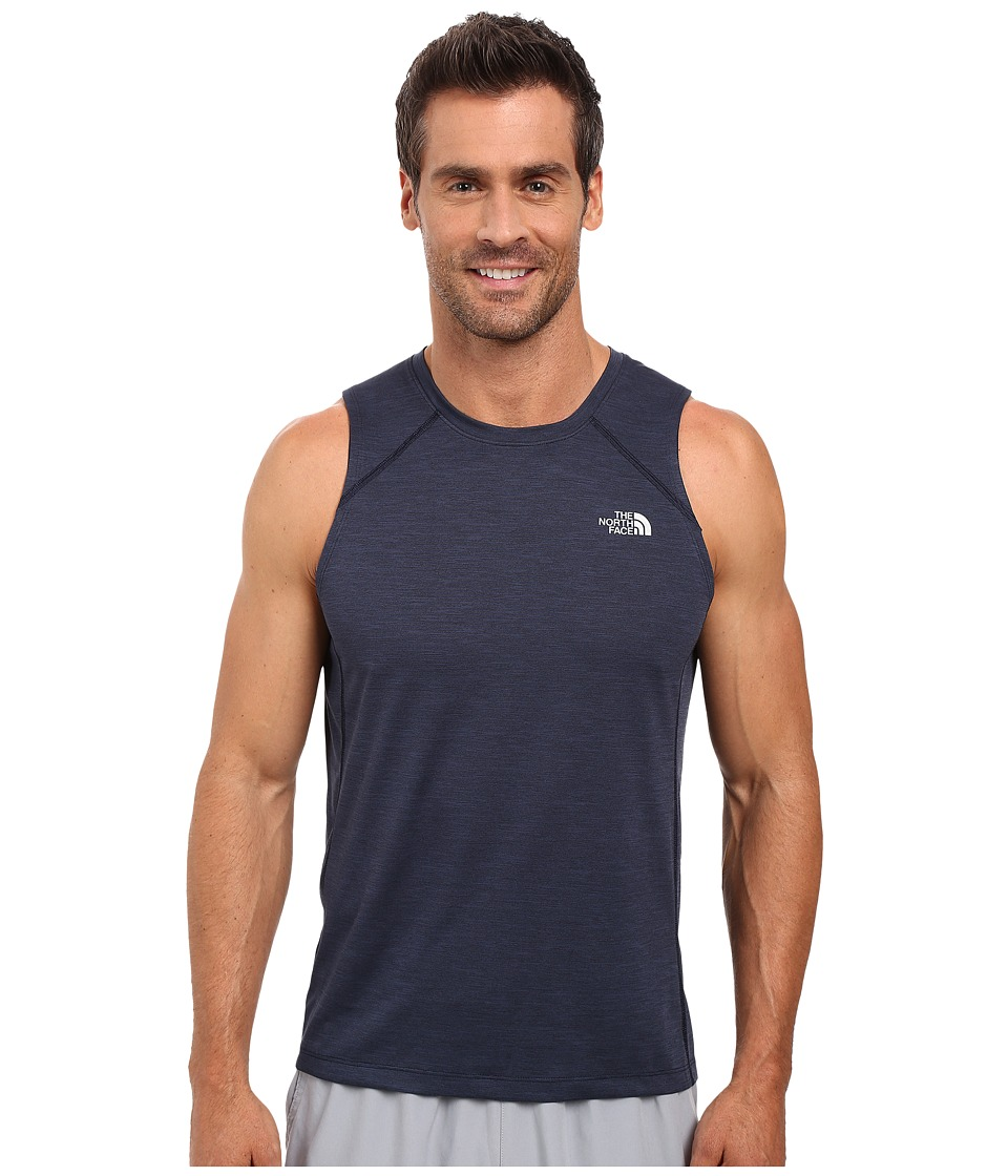 The North Face - Ambition Tank Top (Cosmic Blue Heather) Men's Sleeveless