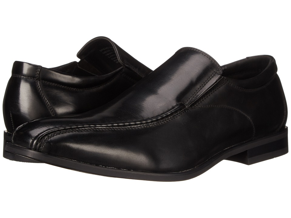 Kenneth Cole Unlisted - Spend The Night (Black) Men's Slip on Shoes