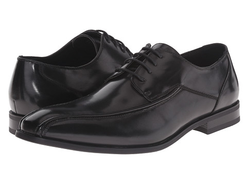 Kenneth Cole Unlisted - Spend Time (Black) Men's Lace-up Bicycle Toe Shoes