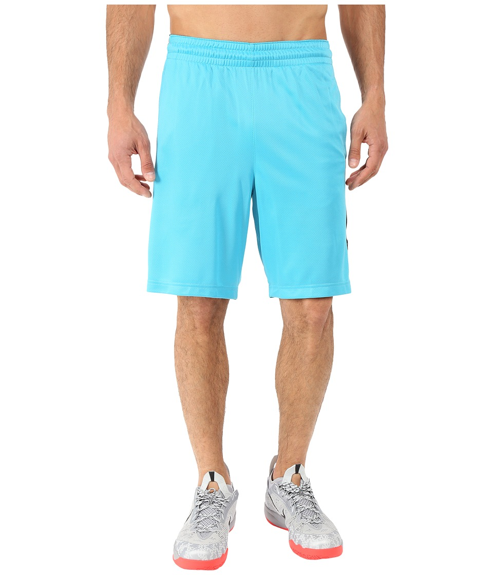 Nike - Elite Stripe Short (Omega Blue/Black/White/Metallic Silver) Men's Shorts