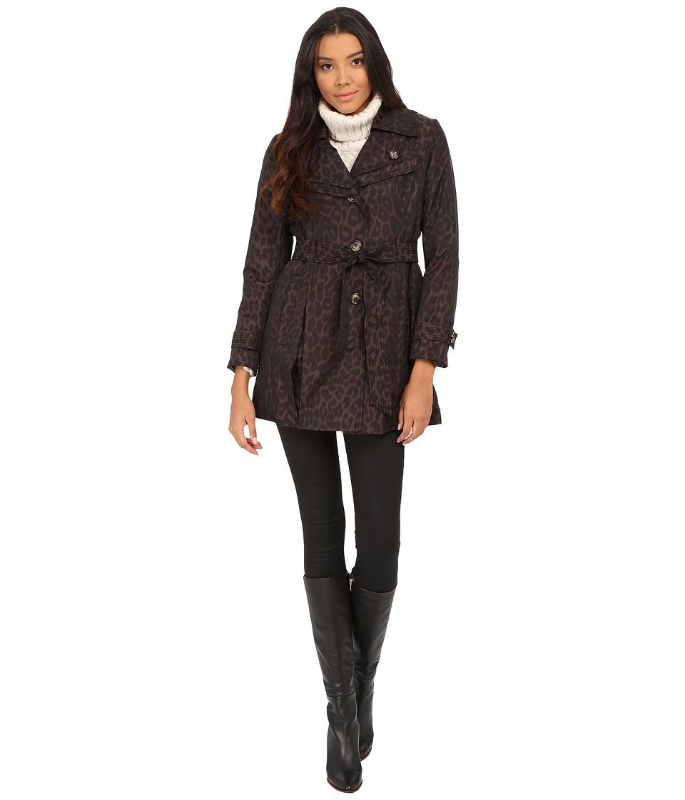 London Fog - L721409L (Leopard) Women's Coat