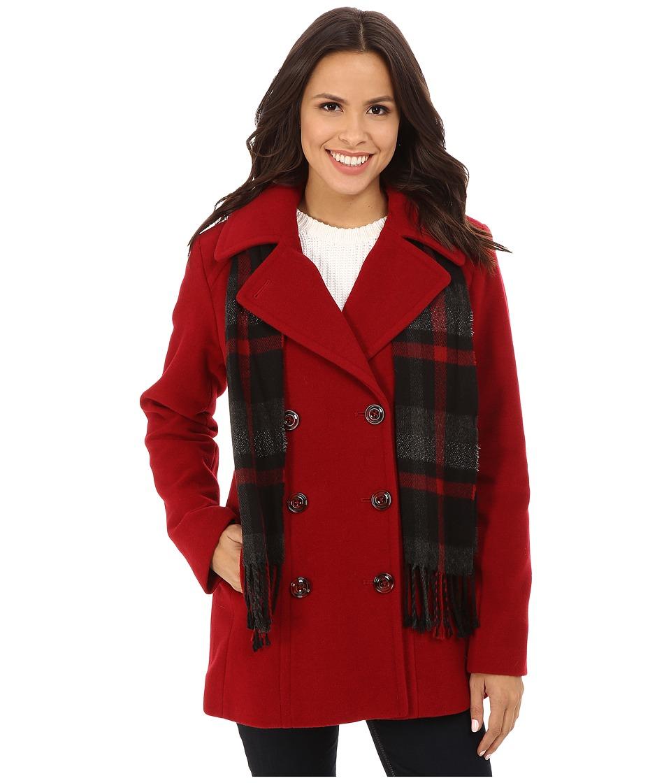 London Fog - L121082F74 (Red) Women's Coat