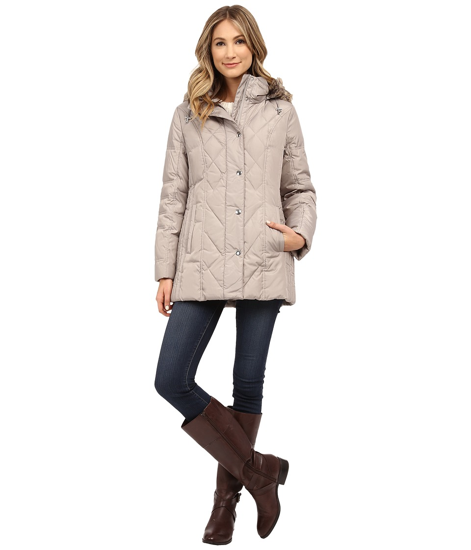 London Fog - L820627L (Pearl) Women's Coat