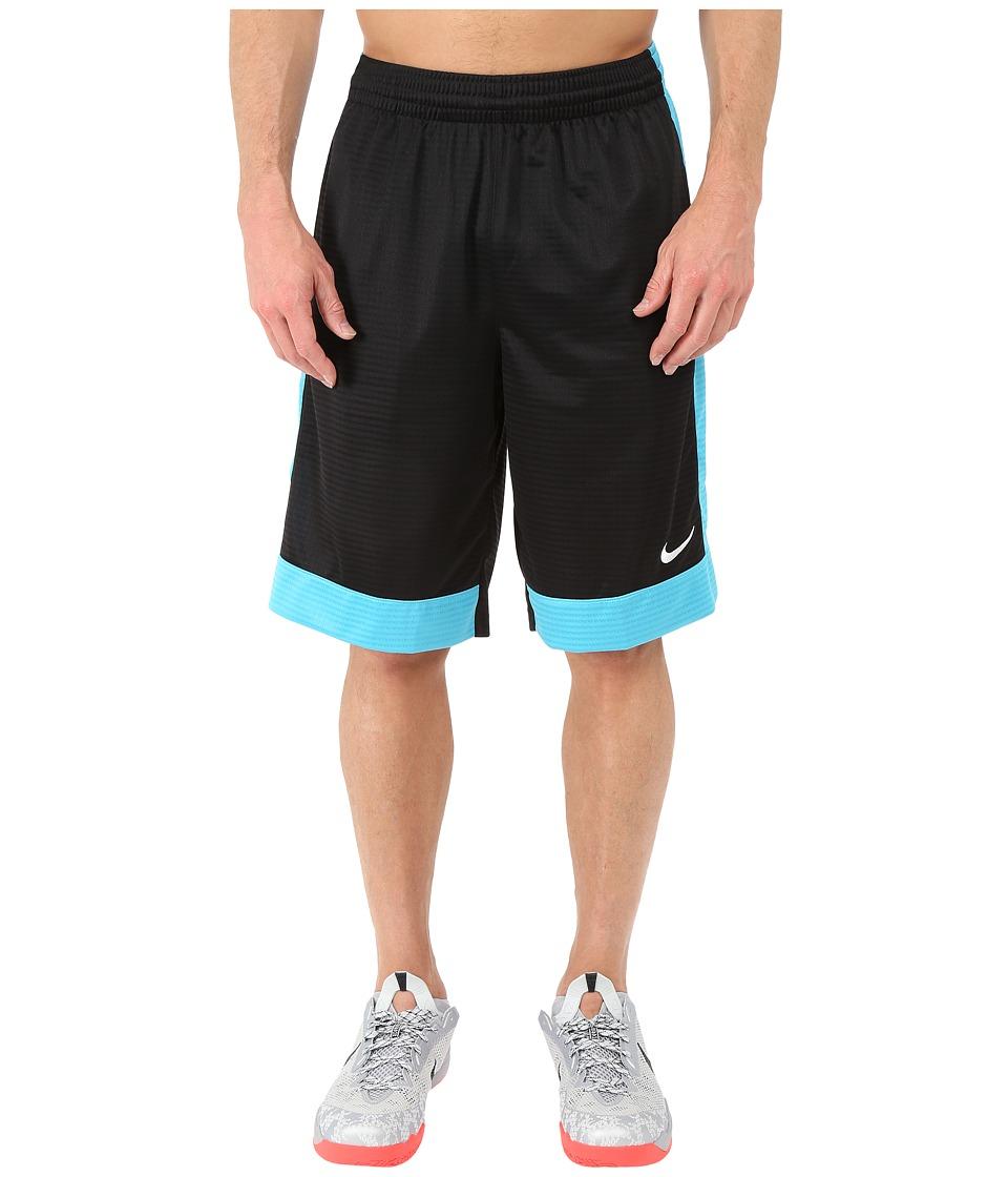 Nike - Fastbreak Short (Black/Omega Blue/Omega Blue/White) Men's Shorts