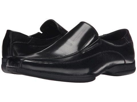 Kenneth Cole Unlisted - Crime Scene (Black) Men's Slip on Shoes