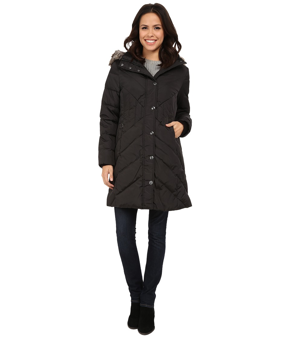 London Fog - L821429L (Black) Women's Coat