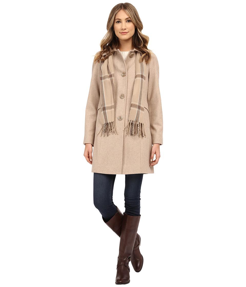 London Fog - L120902L (Oatmeal) Women's Coat