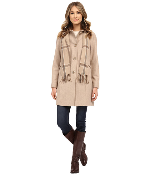 London Fog - L120902L (Oatmeal) Women's Coat