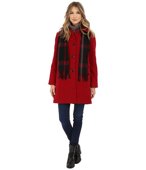London Fog - L120902L (Red) Women's Coat