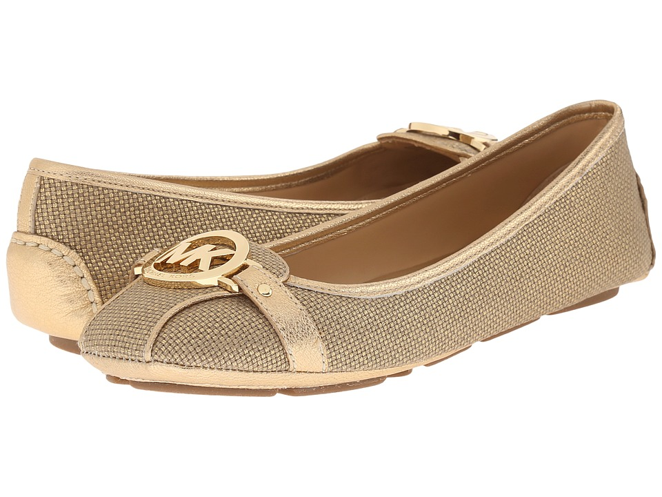 MICHAEL Michael Kors Fulton Moc Gold Womens Slip on  Shoes