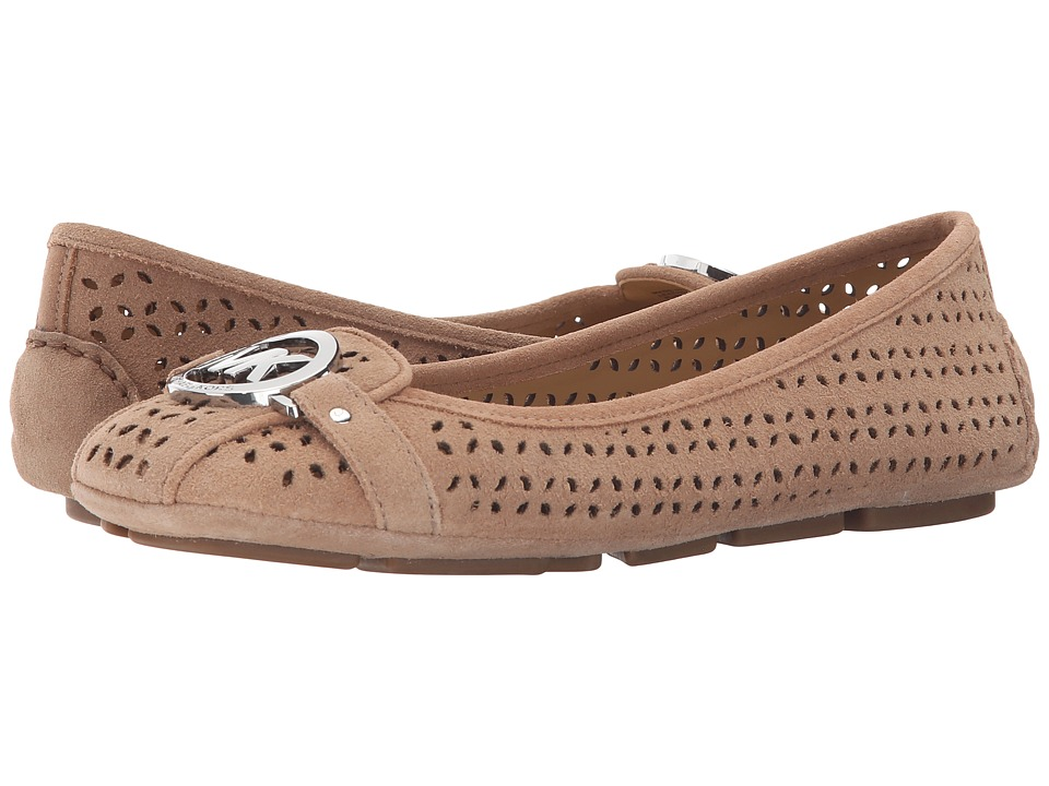 MICHAEL Michael Kors - Fulton Moc (Dark Khaki) Women's Slip on Shoes