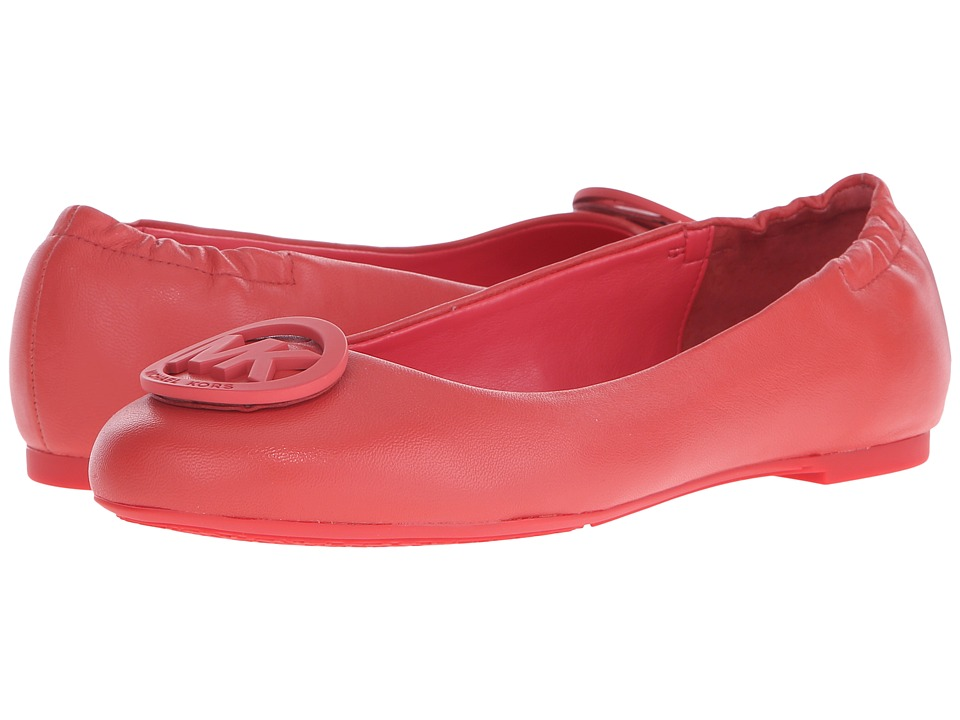 MICHAEL Michael Kors - Lindsay Ballet (Passion Nappa) Women's Shoes