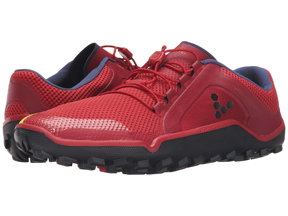 Vivobarefoot - Primus Trail (Red/Blue/Yellow) Men's Shoes
