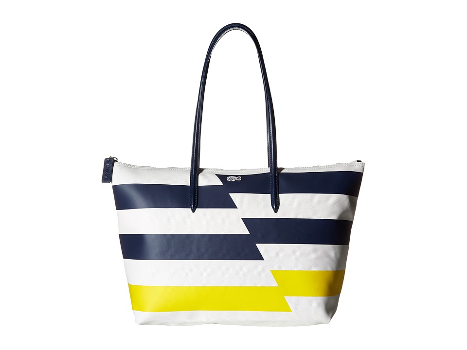 Lacoste - Large Shopping Bag (Flash Cyber Yellow) Bags