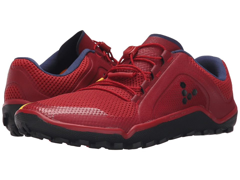 Vivobarefoot - Primus Trail (Red/Blue/Yellow) Women's Shoes