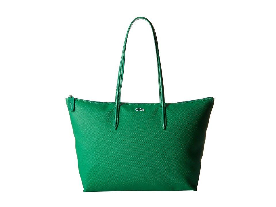 Lacoste - L.12.12 Concept Large Shopping Bag (Chlorophyll Green) Tote Handbags