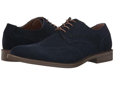 Calvin Klein - Greenwich (Navy Suede) Men's Shoes