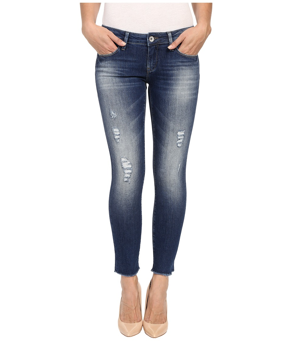 Mavi Jeans - Serena Ankle in Dark Ripped Vintage (Dark Ripped Vintage) Women's Jeans
