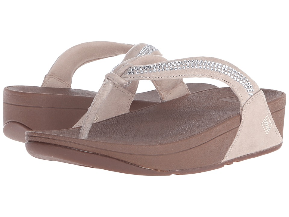 FitFlop - Crystal Swirl (Nude) Women's Sandals
