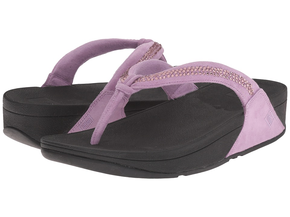 FitFlop - Crystal Swirl (Dusty Lilac) Women's Sandals