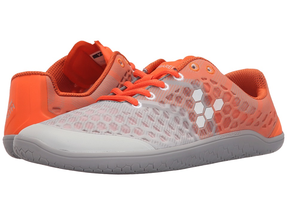 Vivobarefoot - Stealth II (Grey/Orange) Men's Shoes