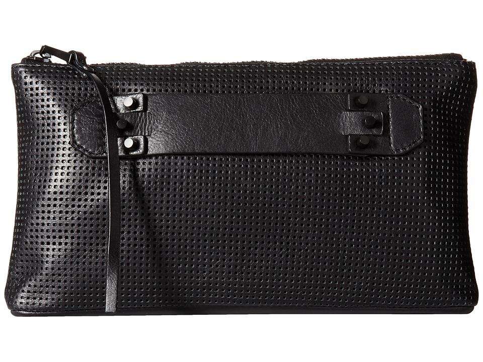 edeb414bc8 She + Lo - Next Chapter Clutch (Black Perf Black Hardware) Clutch Handbags
