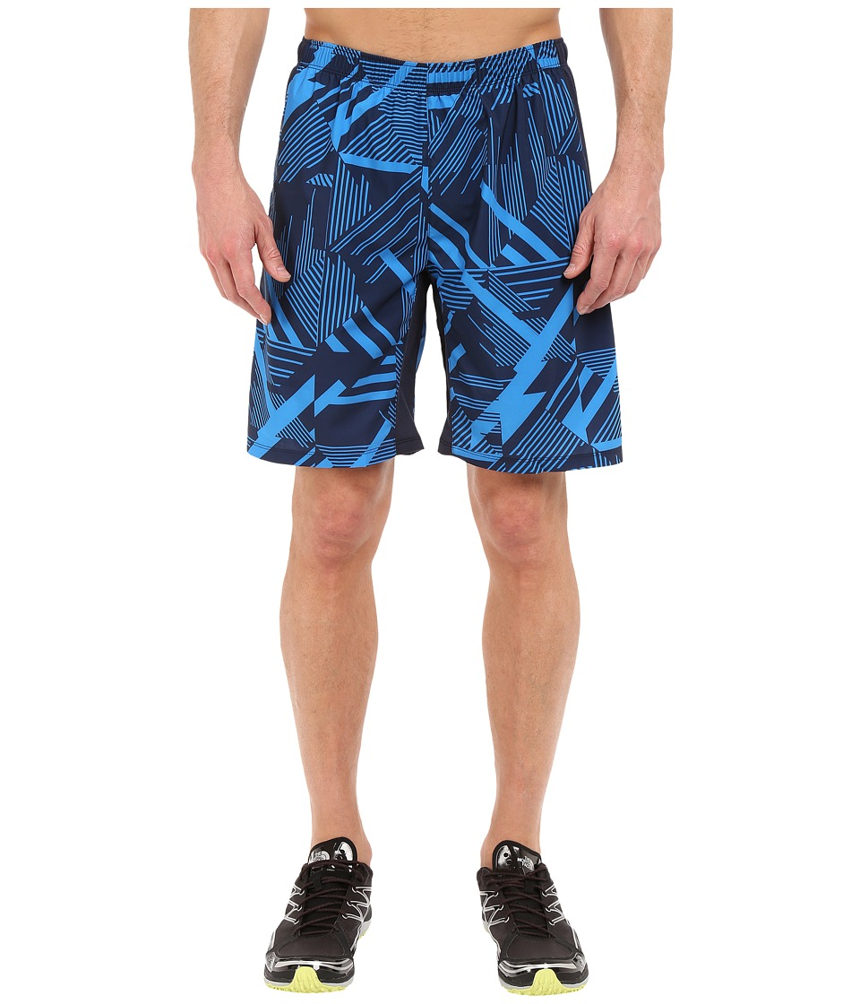 The North Face - NSR Dual Shorts (Cosmic Blue Print) Men's Shorts