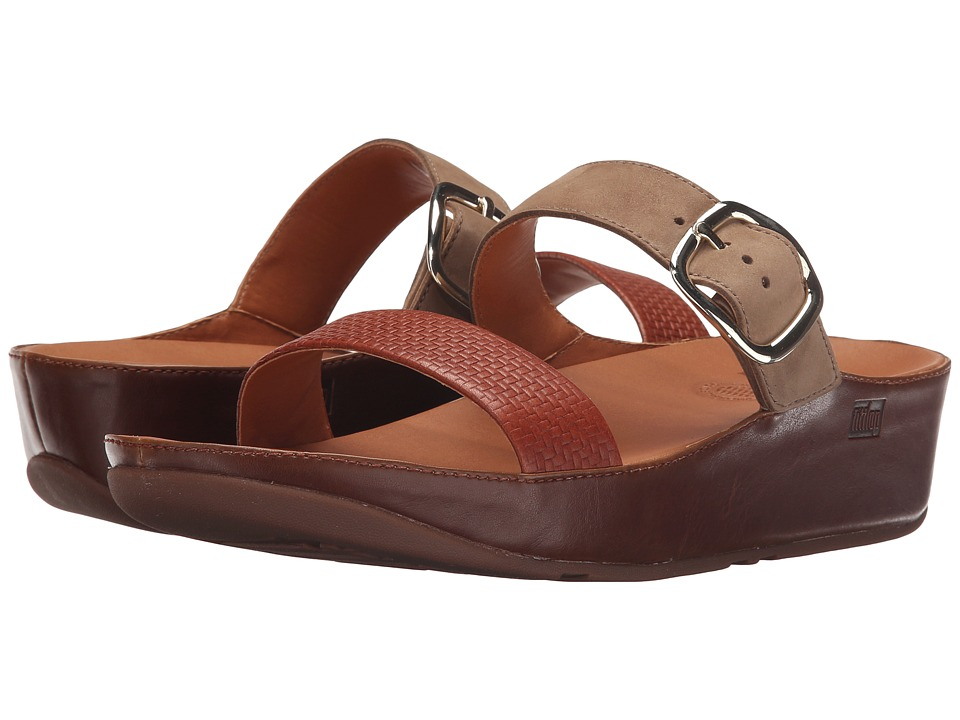 FitFlop - Stack Slide (Dark Tan) Women's Sandals