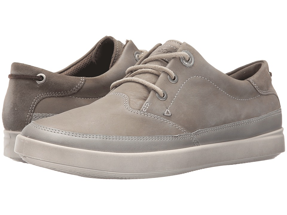 ECCO - Aimee Nautical Sneaker (Steel/Warm Grey/Warm Grey) Women's Lace up casual Shoes