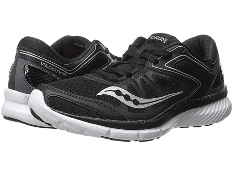 Saucony - Grid Velocity RN (Black/White) Women's Shoes
