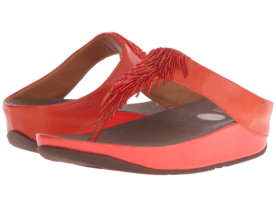 FitFlop - Cha Cha (Flame) Women's Slide Shoes