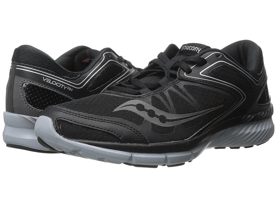 Saucony - Grid Velocity RN (Black/Grey) Men