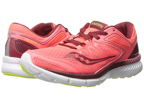 Saucony - Grid Velocity RN (Coral/Red) Women's Shoes