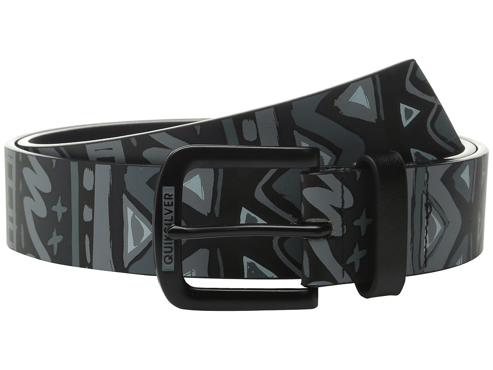 Quiksilver - Hectic Belt (Black) Men's Belts