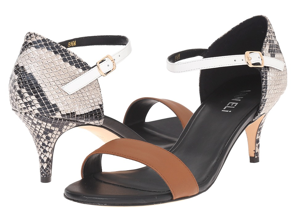 Vaneli - Lalita (Tan Calf/Roccia Vero/White Bulgaro/Black Ferns) High Heels