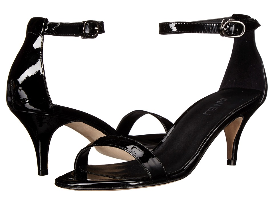 Vaneli - Lassie (Black Patent/Gunmetal Buckle) High Heels