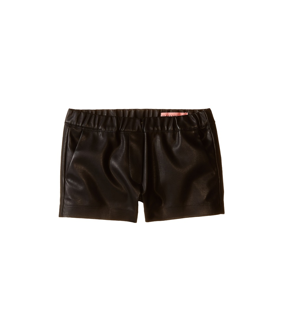 Blank NYC Kids - Vegan Leather Elastic Band Shorts in Pussy Cat (Big Kids) (Pussy Cat) Girl