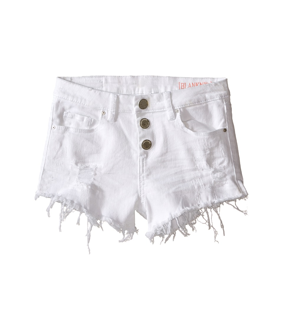 Blank NYC Kids - High Rise Shorts in Perfect Ten (Big Kids) (Perfect Ten) Girl's Shorts