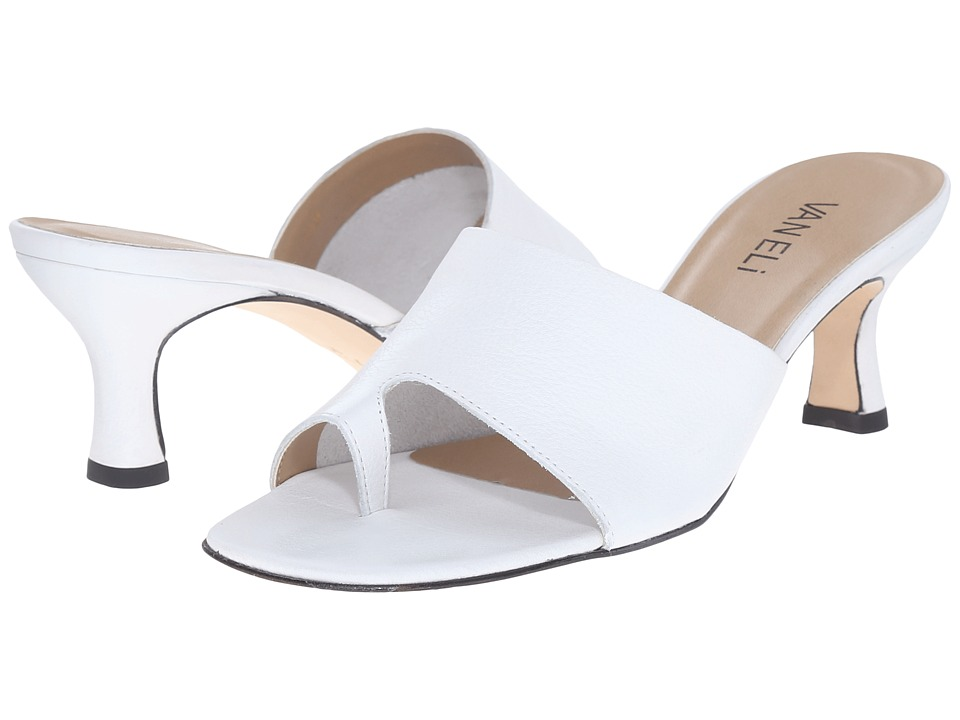 Vaneli - Melea (White Seta Calf) High Heels