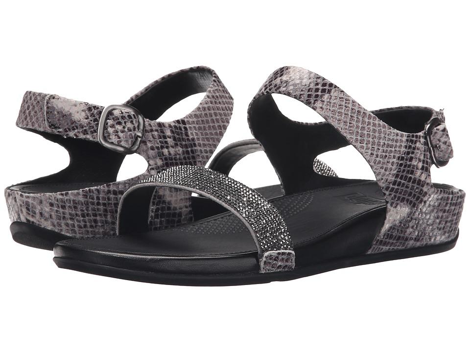FitFlop - Banda Crystal Snake Sandal (Mink) Women's Sandals