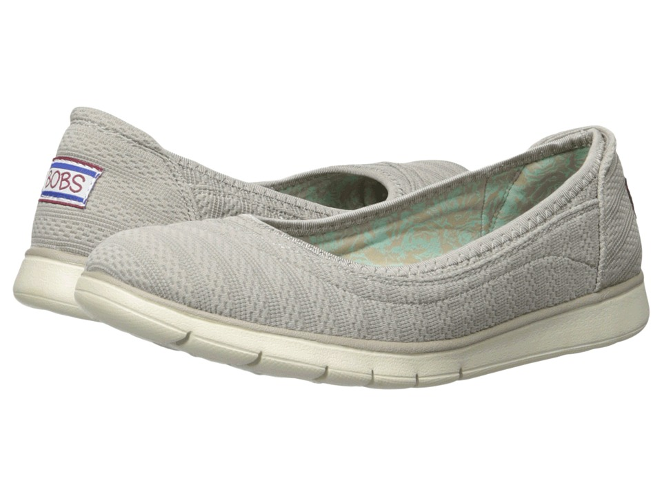 BOBS from SKECHERS - Pureflex (Taupe) Women's Flat Shoes